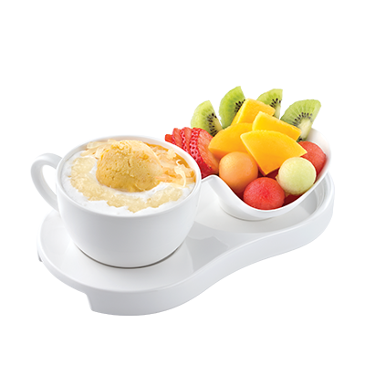 Pomelo & Mango with Sago & Bird's Nest