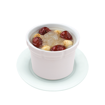 Stewed Harsmar with Red Dates & Lotus Seeds