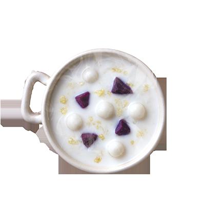 紫薯小米露