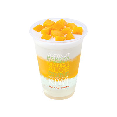 Mango & Coconut Juice with Crystal Jelly