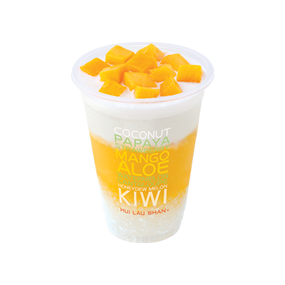 Mango & Coconut Juice with Sago
